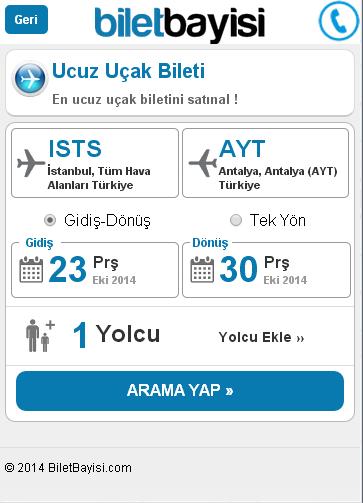 Onur Air - BiletBayisi.com