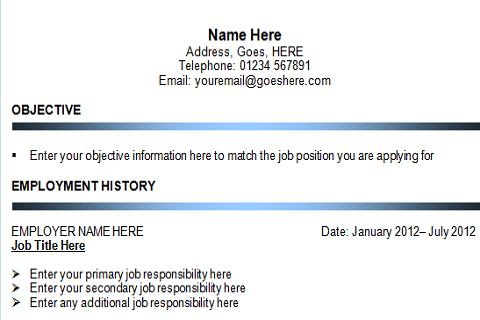 resume app pro screenshot