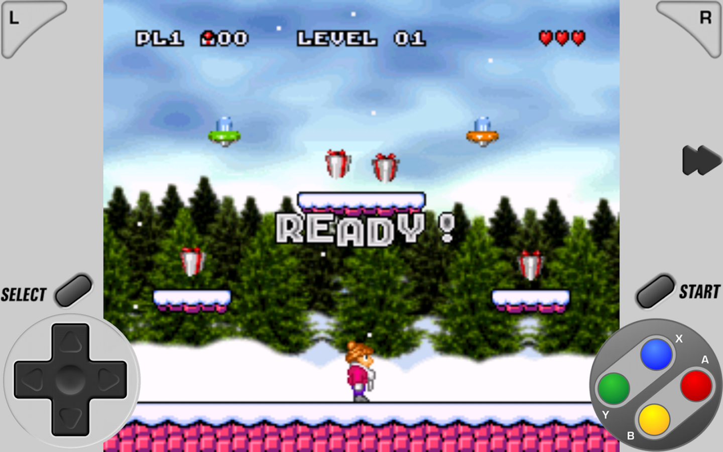 SuperRetro16 Lite (SNES) - screenshot
