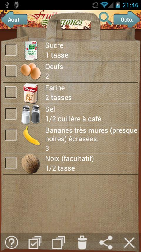 Fruits et Légumes de Saison- screenshot