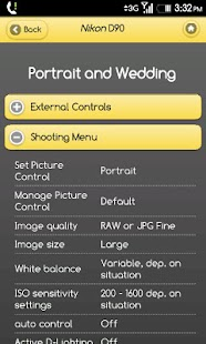 Nikon D90 Settings Guide - screenshot thumbnail