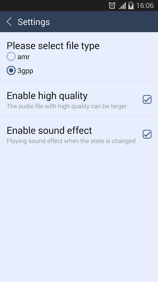 Voice Recorder- screenshot