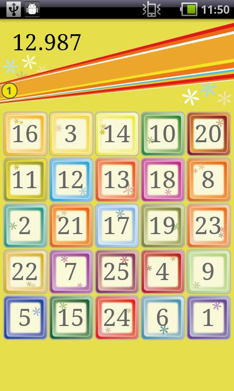 Number Touch - screenshot