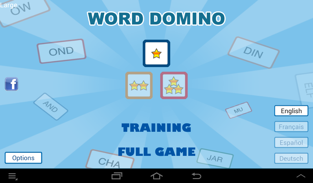 Word Domino - Letter games- screenshot