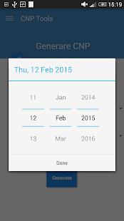 CNP Verificare / Generare- screenshot thumbnail