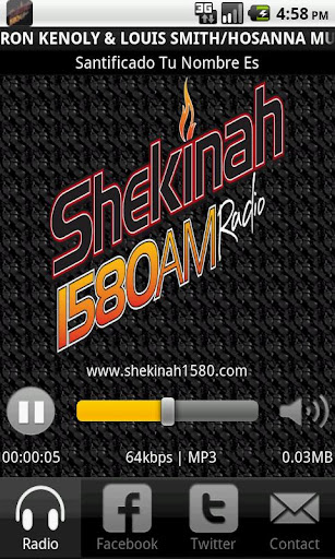 Shekinah 1580