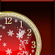 Winter Fantasy Clock Widget