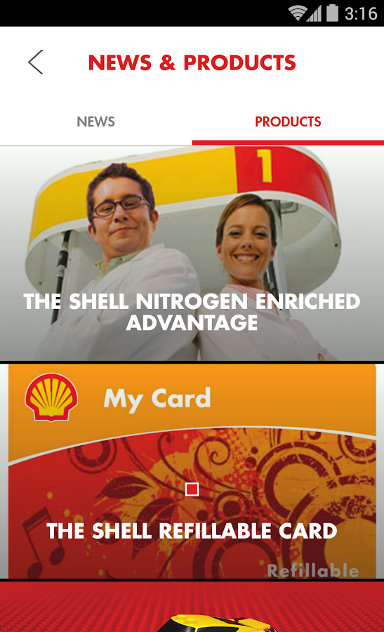 Shell Motorist - screenshot