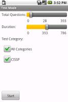 Screenshot of CISSP Exam Prep