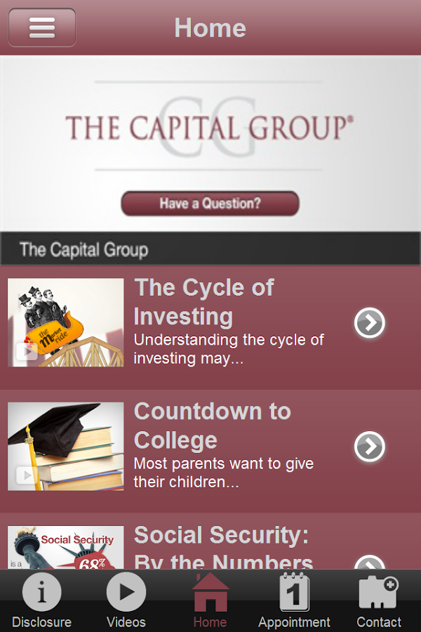 The Capital Group- screenshot