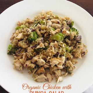 Organic Chicken with Quinoa Salad