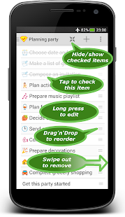 Checklist - tasks, to-do lists, goals, reminders- screenshot thumbnail