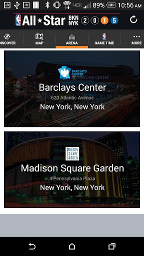 NBA All-Star NYC App
