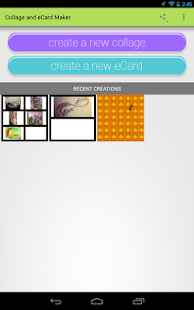 eCards & Collages - screenshot thumbnail