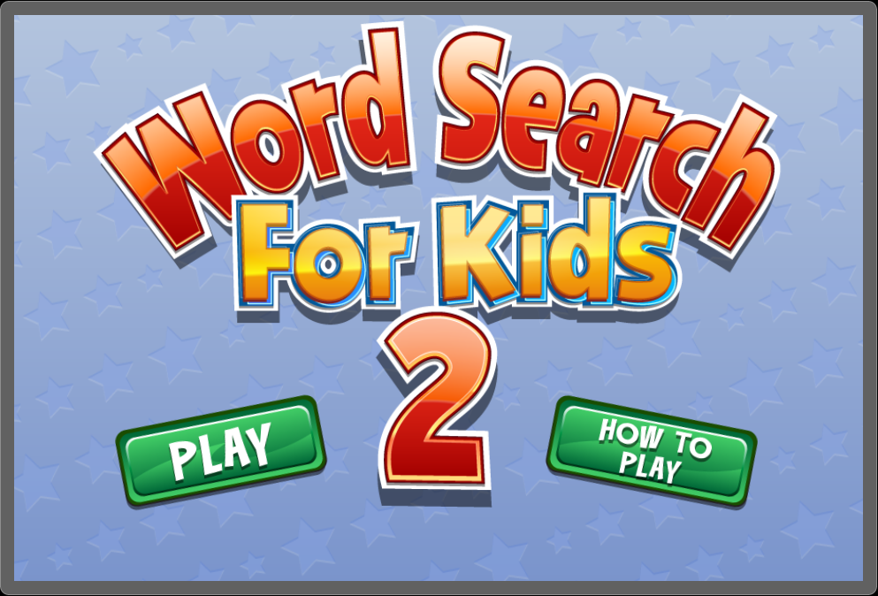 Word Search for Kids 2- screenshot