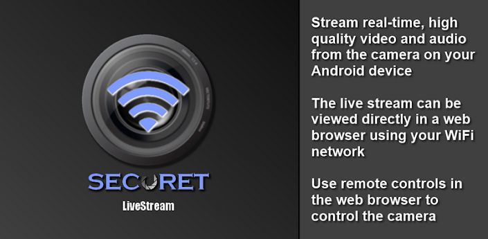 Camera WiFi LiveStream apk