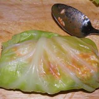 Guluptsie (Cabbage Rolls).