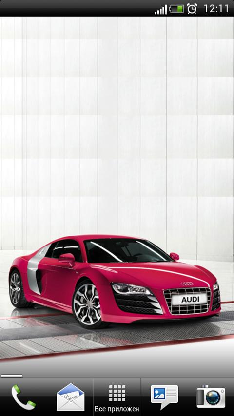 Audi R8 Coupe Live Wallpaper - screenshot
