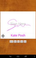 Screenshot of Digital Signature Creator