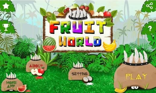 3D Fruit World