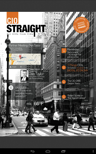 【免費商業App】CIO Straight Talk-APP點子
