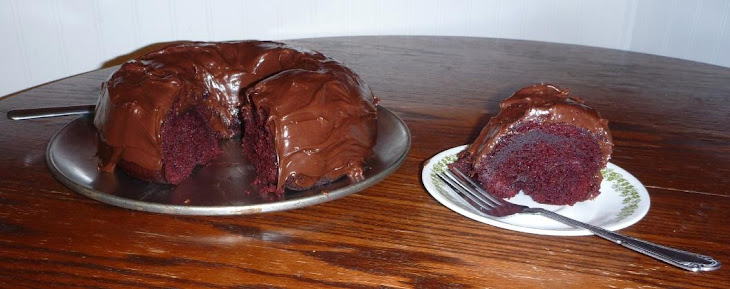 Raspberry Chocolate Fudge Red Velvet Cake Recipe