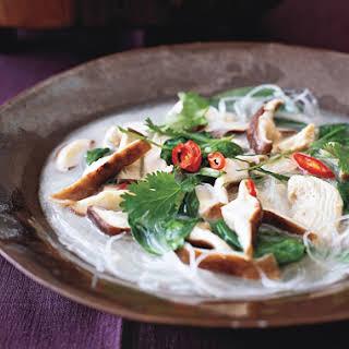 Thai Chicken-Coconut Soup.