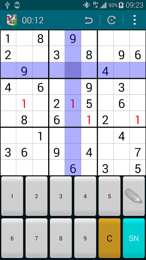 Super Sudoku- screenshot