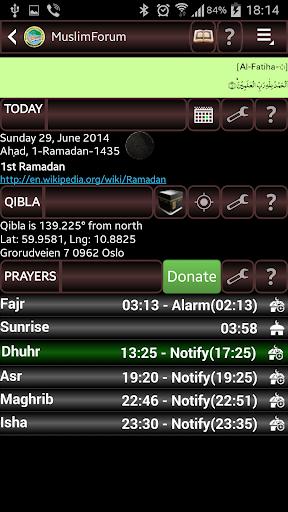 Quran Qibla and Prayers