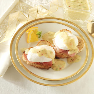 Holiday Eggs Benedict.
