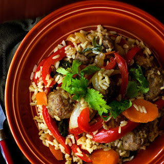 Italian Sausage Fried Brown Rice Recipe with Vegan Option | Plus tips on making perfect fried rice
