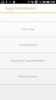 Screenshot of Yoga & Meditation