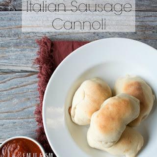 Italian Sausage Cannoli