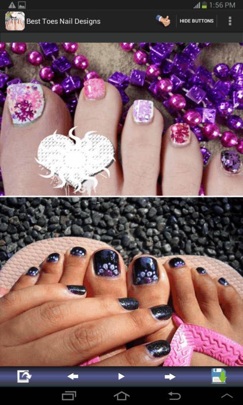Best Toes Nail Designs- screenshot
