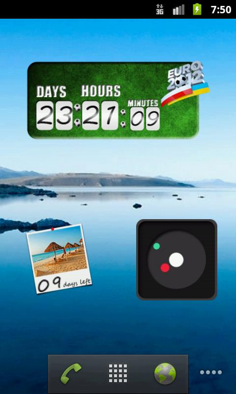 Vacation Countdown Widget - screenshot