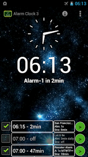 Alarm Clock 3 - music alarm- screenshot thumbnail