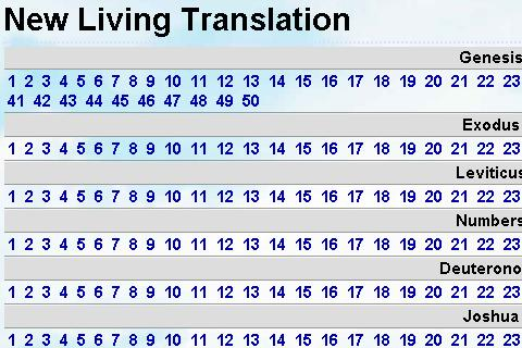 Bible New Living Translation - screenshot