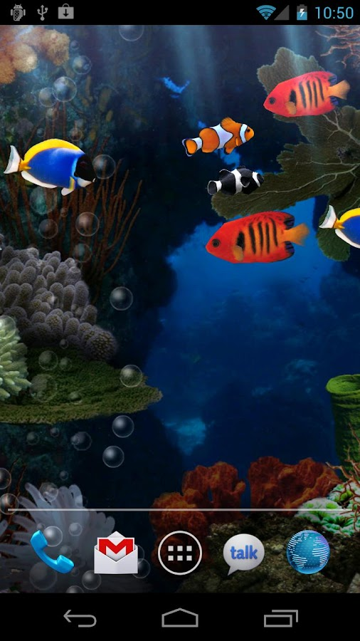 Aquarium free live wallpaper android apps on google play for Fish table app