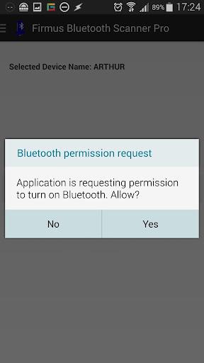 Firmus Bluetooth Scanner Pro