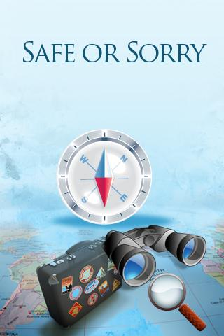 SafeOrSorry - screenshot