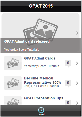 GPAT- screenshot