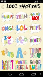 玩娛樂App|1001 Emotions 4 all text chats免費|APP試玩