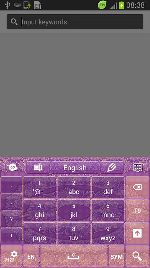 Lace GO Keyboard - screenshot