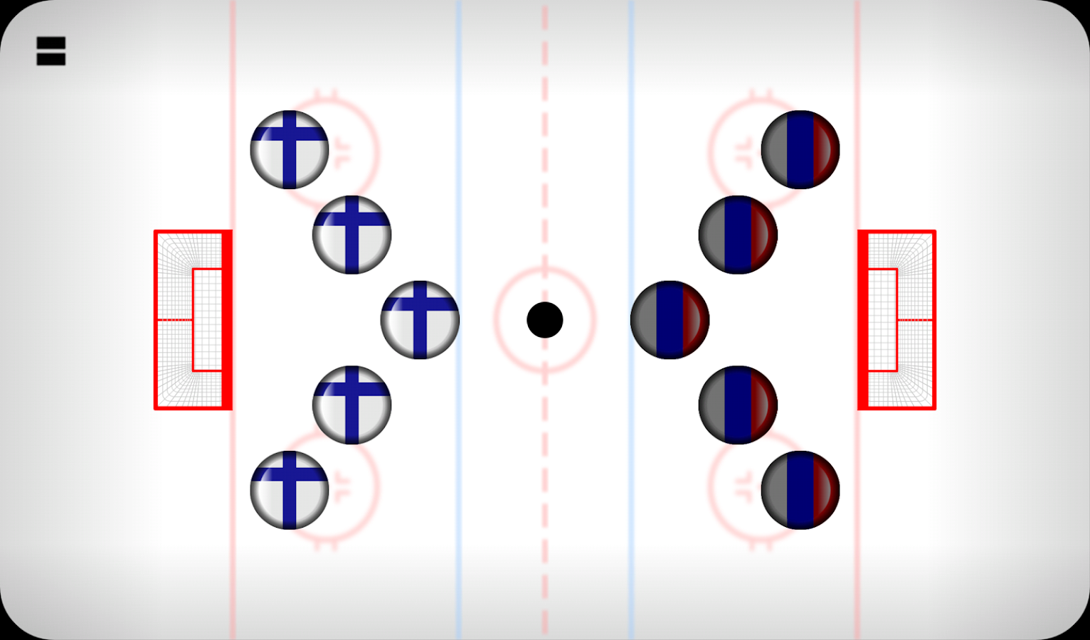 Finger Hockey - screenshot