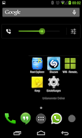 Screenshot of BetterKat CM11 Theme Green