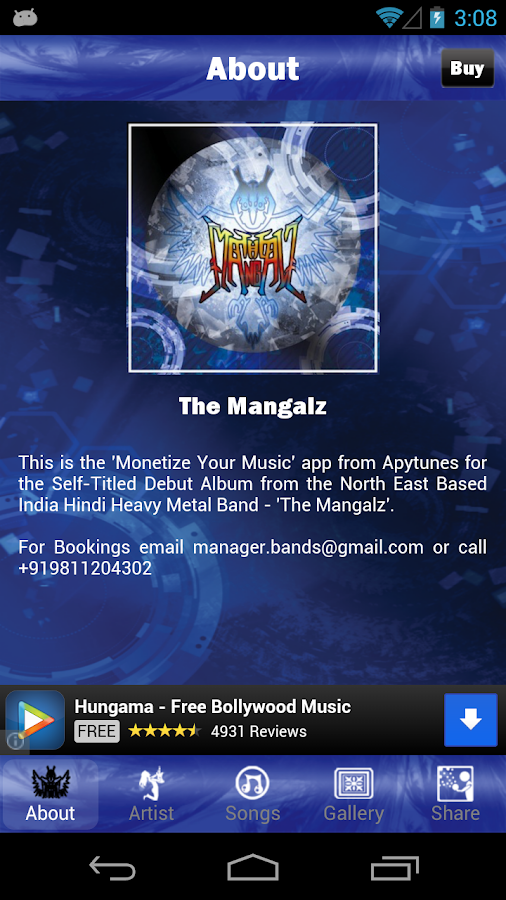 The Mangalz Lite - screenshot