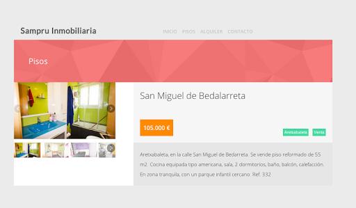 【免費商業App】Sampru Inmobiliarias-APP點子