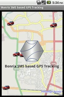 Bonrix SMS based GPS Tracking- screenshot thumbnail