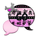 GO SMS THEME/ValentineSkulls2 icon