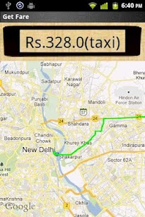 Taxi Fare Calculator - screenshot thumbnail
